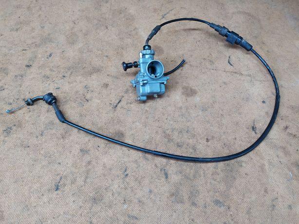 Gaźnik mikuni linka gazu części Yamaha DT 80 lc1 37A RD 80 30W