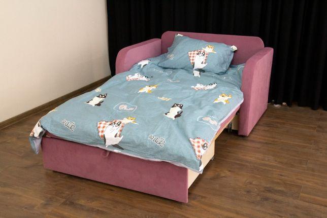 Детский диван кровать. Гном Премиум. Раскладной. 0.8 м