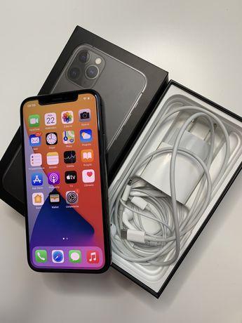 Apple IPhone 11 pro 64gb w kolorze SPACE GREY, pełny zestaw, gwarancja