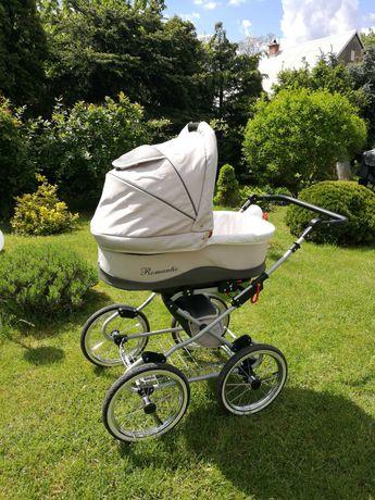 Wózek dziecięcy 3w1 KUNERT ROMANTIC BDB stan