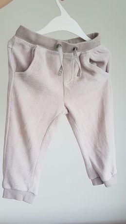 Spodnie dresowe jesień Cool Club r 80