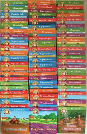 Kolekcja książek Wesoła Farma DAG 65szt.