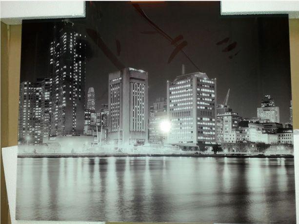 Nowe dekoracyjne Dekor szklany  Szkło laminowane New York 60x60