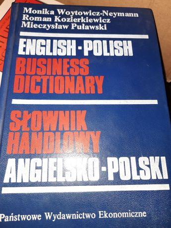 Słownik handlowy angielsko polski Monika Woytowicz
