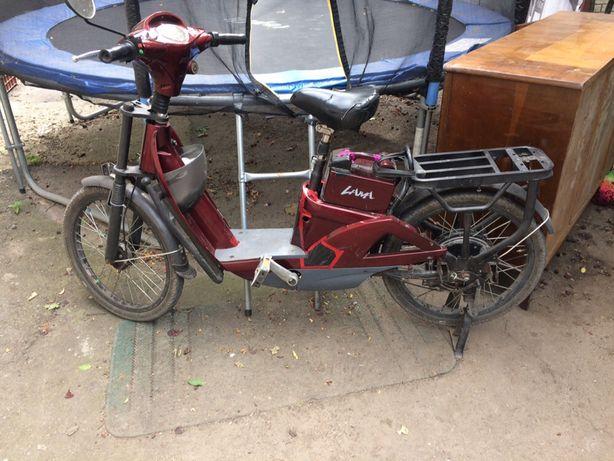 Електровелосипед грузовий