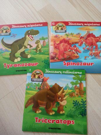3 Książeczki o dinozaurach
