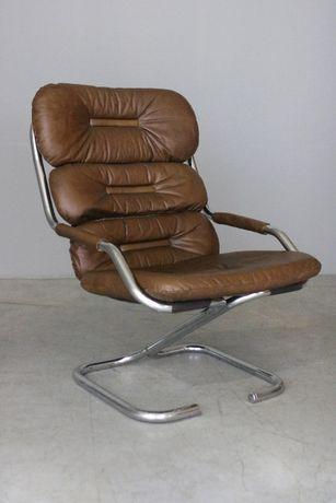 Poltrona nórdica da década de 70| Armchair design| Retro Vintage