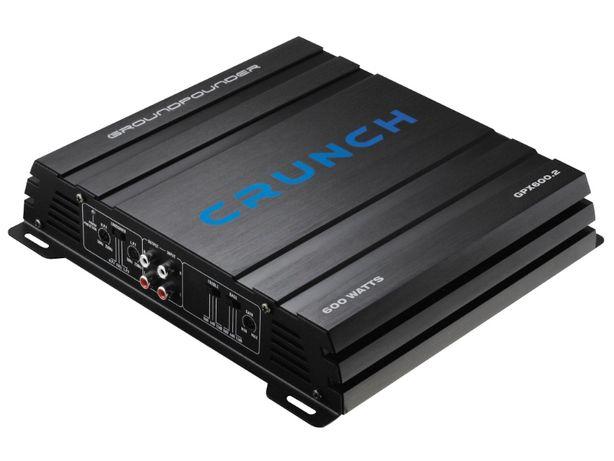 Wzmacniacz Crunch GPX600.2 1x500W/250W RMS Bas Audio Skrzyszów Śląsk