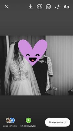Весільна сукня 44 розміру