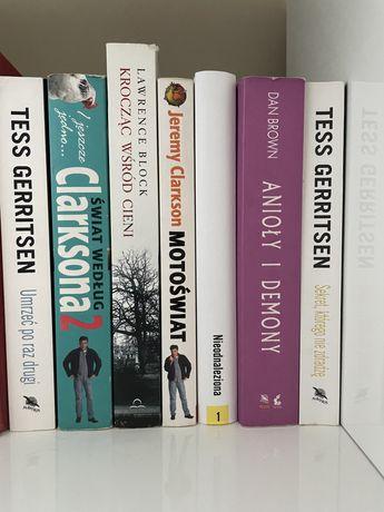 Książki Gerritsen, Clarkson, Block, Brown i Mróz
