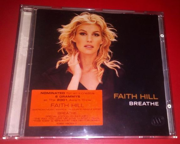 CD Faith Hill ‎– Breathe