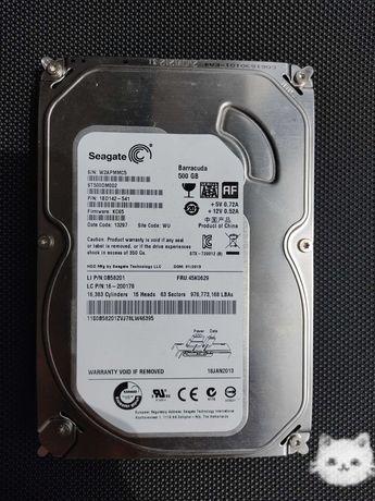 Жёсткий диск HDD 500gb В идеальном состоянии