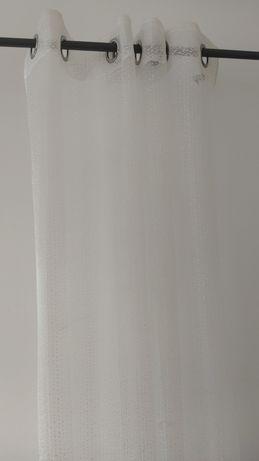 Cortina branca rede