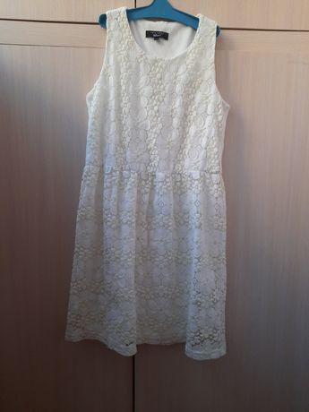 Платье белое на рост 152