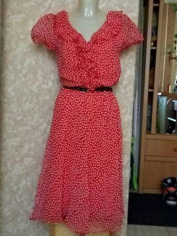 Легкое шыфоновое платье