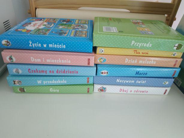Książki z serii obrazki dla malucha 11 szt