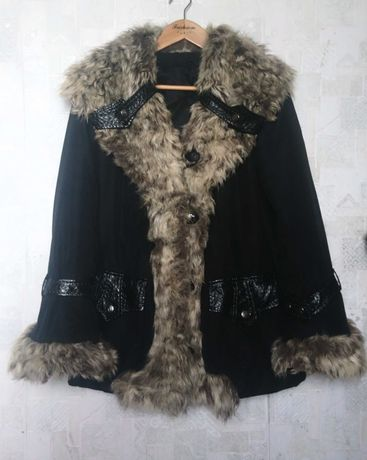 Куртка / дубленка искусственный мех размер L ( 48 - 52, 175 см)