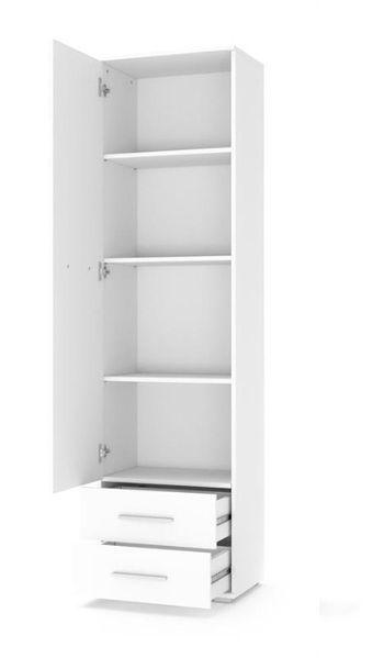LIMA REG1 REGAŁ / 60/40/200 cm / biały