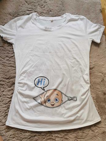 Bluzeczka na ciążę