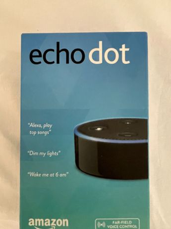 Coluna amazon Echo Dot
