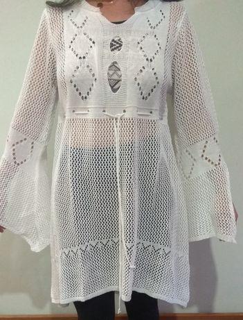 Vestido Crochê Senhora