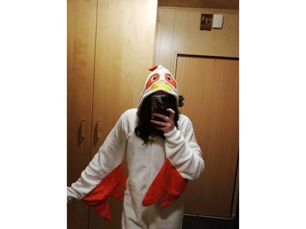 Onesie przebranie kurczaka kostium polarowy