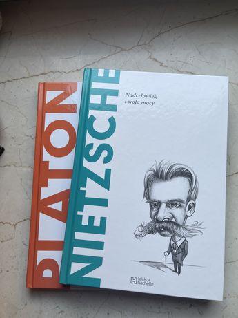 ODKRYJ FILOZOFIĘ kolekcja hachette. Tom 1-2 Platon, Nietzsche