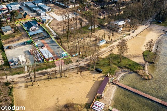 Teren pod działalność tuż przy plaży - Boszkowo