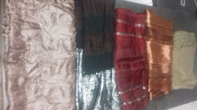 zestaw apaszki chusty szale 16 sztuk na każdą okazję stan bdb 230zł