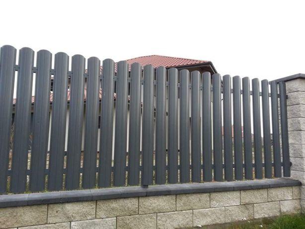 SZTACHETA METALOWA sztachetki ogrodzenie 11,5 cm OLSZ
