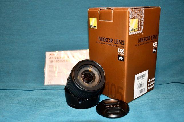 Nikon AF-S DX Nikkor 18-105mm/3.5-5.6G ED VR