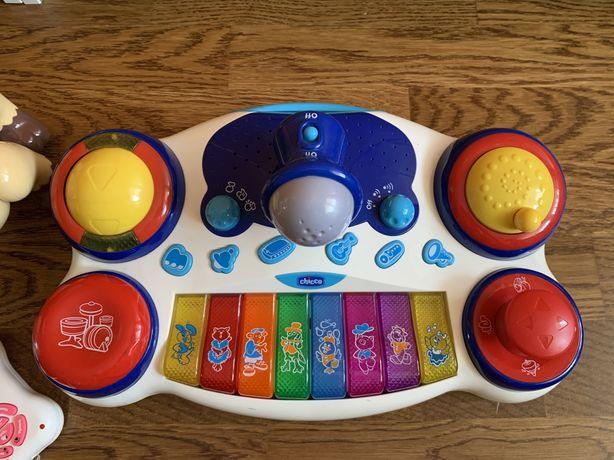 Музыкальная игрушка с микрофоном Chicco