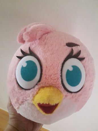 Peluche rosa oficial Angry Birds