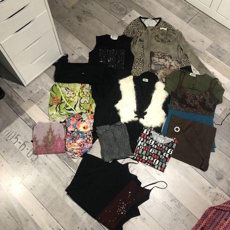 Zestaw eksluzywnych ubrań damskich S/M Morgan/Chicoree/MCMC/TNFCParis/