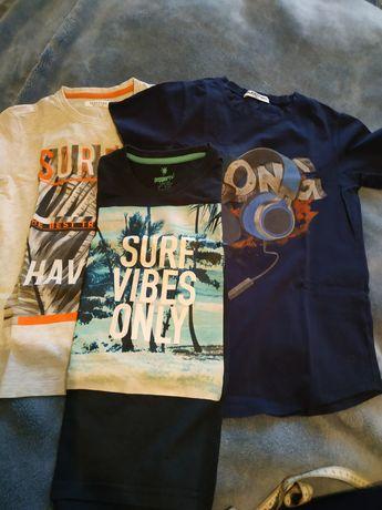 Koszulki chłopięce krótki rękaw t-shirt 134