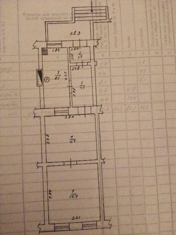 Продам в центрі 2х кімнатну квартиру під офіс чи магазин