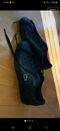 buty lacoste czarne