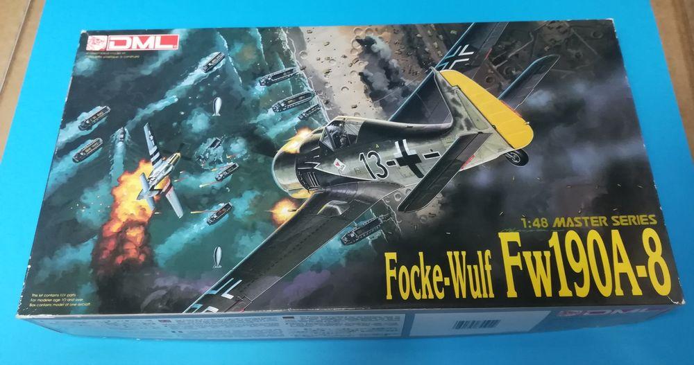 1/48 Focke-Wulf 190 A-8 Dragon Master Series Vila de São Sebastião - imagem 1
