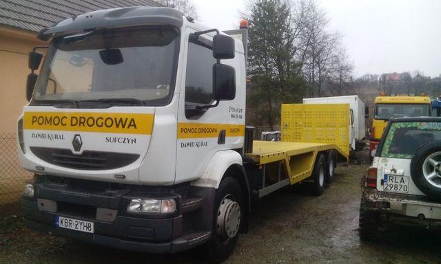 Renault Pomoc Drogowa Laweta Midlum