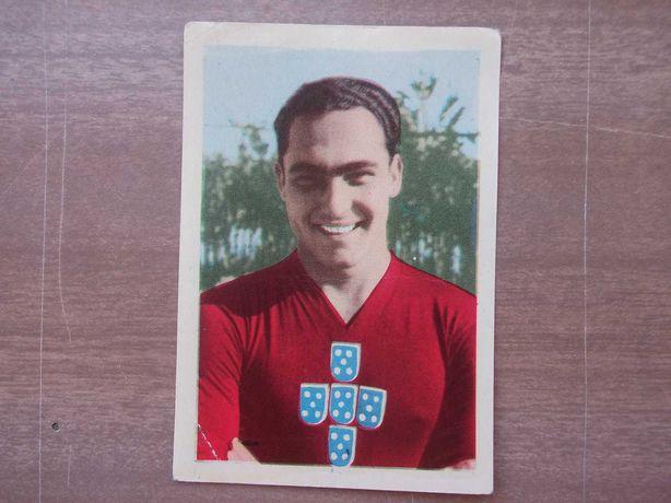 CROMO PEYROTEO (Sporting) INTERNACIONAIS da BOLA 1956 Ag.Port.Rev.