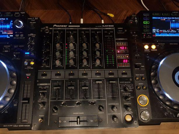 Mixer PIONEER DJM500  czarny djm600 djm700 djm800 cdj1000