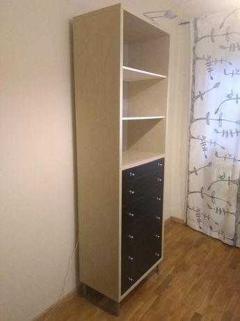 Estante IKEA com gavetas