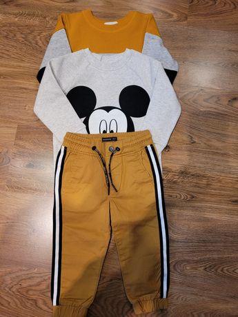 NOWE -spodnie Reserved+2bluzyH&M