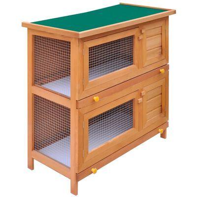 Coelheira para animais pequenos 4 portas madeira **envio grátis**