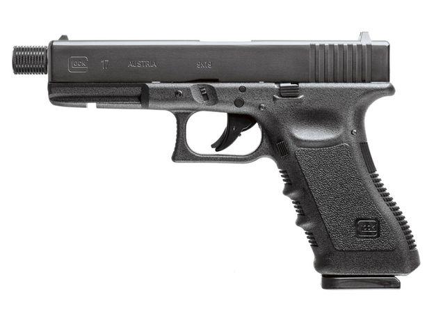 Wiatrówka Pistolet CO2 Glock 17, Blow Back, 4,5 mm diabolo i BB 5.8366