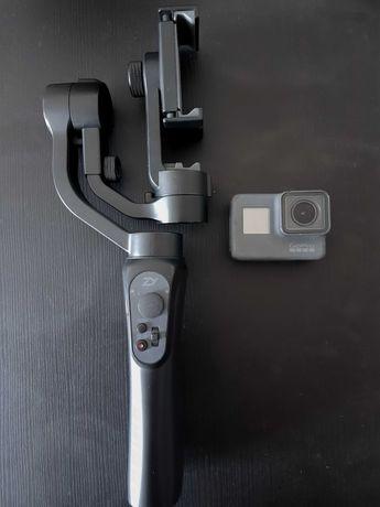 Kamera GoPro Hero 5 + gimbal / stabilizator Zhiyun Smooth-Q