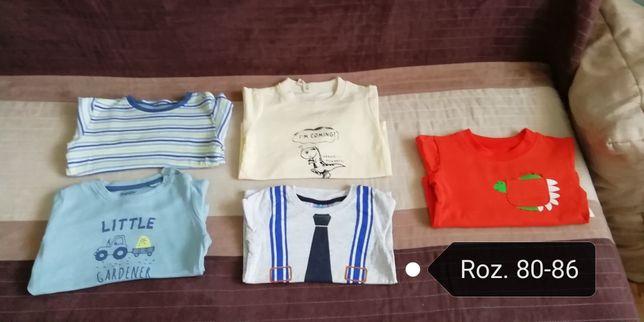 Koszulki dziecięce z długim rękawem