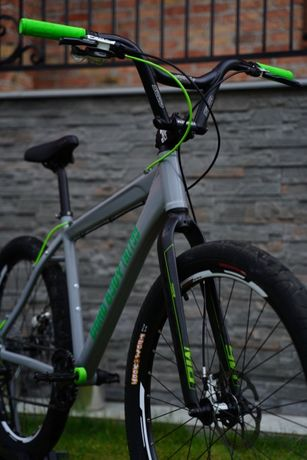 Rower MTB DIRT - Green Goblin - Dead Body Tattoo