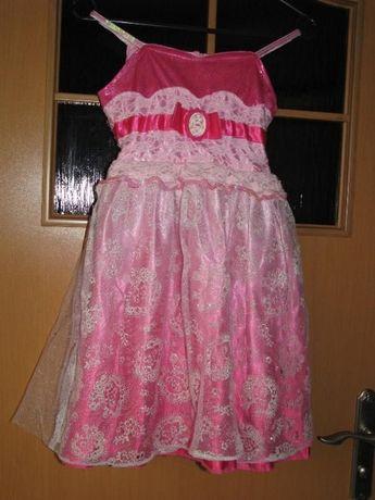 strój przebranie Śpiąca Królewna Aurora 4-6L