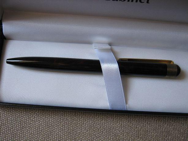 """Ручка шариковая Cabinet """"Armour"""", коричневая"""